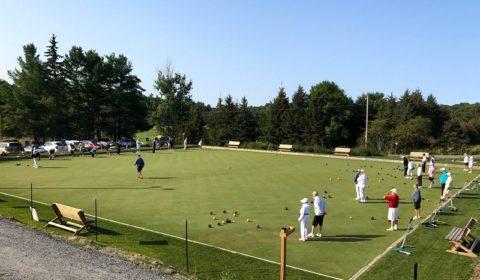 lawn pitch