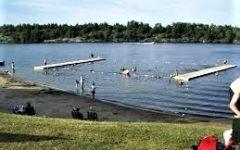 gull lake beach
