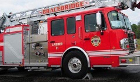 bracebridge fire truck