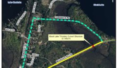 black lake detour