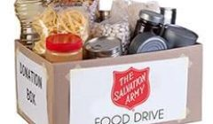 sally ann food drive