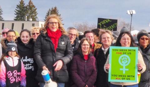 clement women's march