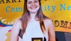small biz student award front
