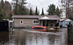 canoe flood