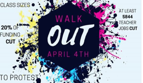 ghs walkout poster