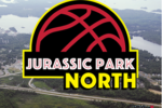 jurassic park north drive-in logo