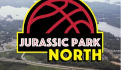 jurassic park north drive-in logo