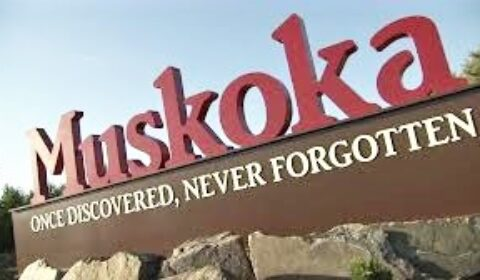 muskoka sign front