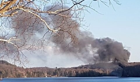 lake fire front