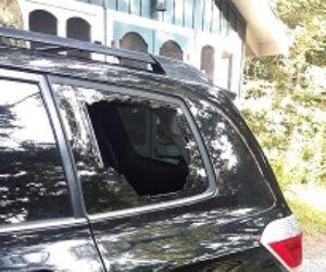 smashed window FRONT